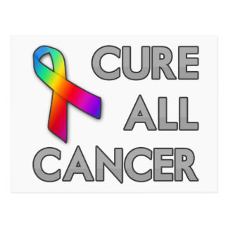 Cure All Cancer Postcard