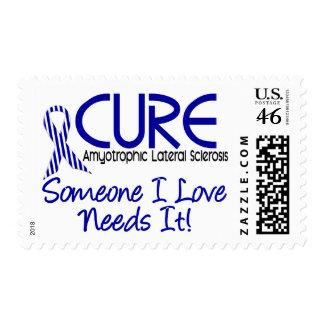 Cure ALS 2 Postage Stamp