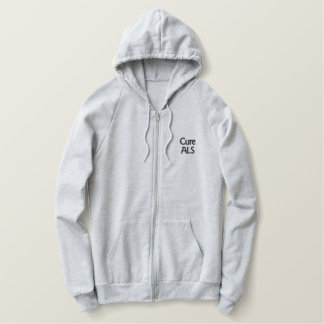 Cure ALS Embroidered Hoodies