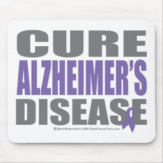 Cure Alzheimers Mouse Pad