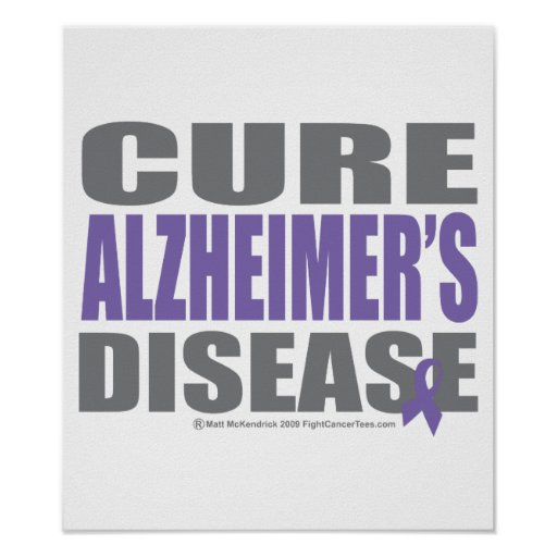 Cure Alzheimers Poster