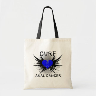 Cure Anal Cancer Canvas Bag