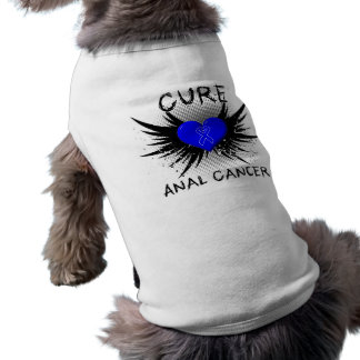 Cure Anal Cancer Doggie T Shirt
