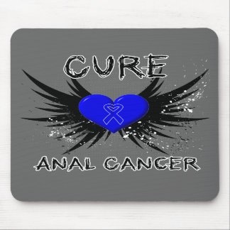 Cure Anal Cancer Mouse Pads