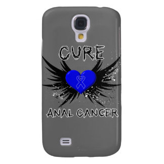 Cure Anal Cancer Samsung Galaxy S4 Cases