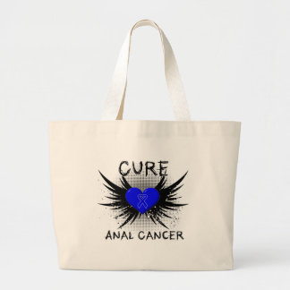 Cure Anal Cancer Tote Bags