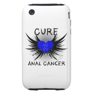 Cure Anal Cancer Tough iPhone 3 Cover