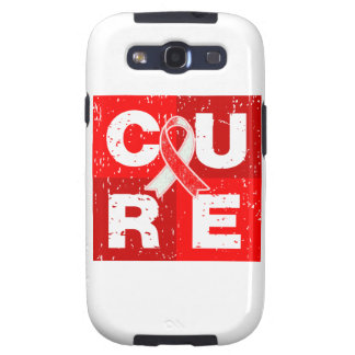 CURE Aplastic Anemia Distressed Cube Galaxy SIII Cover