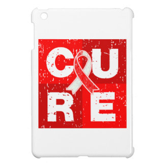 CURE Aplastic Anemia Distressed Cube Cover For The iPad Mini