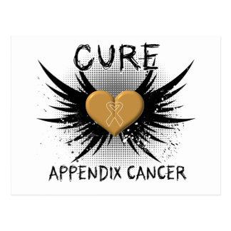 Cure Appendix Cancer Postcard