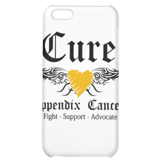 Cure Appendix Cancer Too Wings iPhone 5C Cases