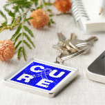 CURE ARDS  Cube Keychain