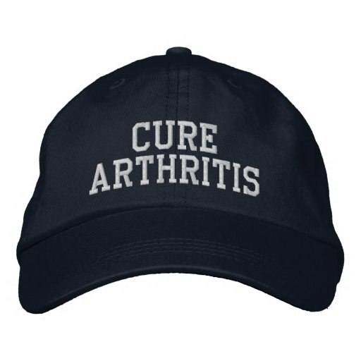 """""""Cure Arthritis"""" - Embroidered Hat"""