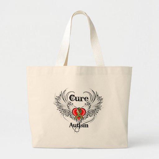 Cure Autism Jumbo Tote Bag