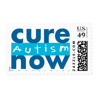 Cure Autism Now Postage Stamps