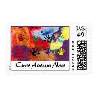 Cure Autism Now Postage