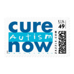 Cure Autism Now Postage Stamp