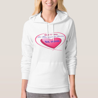 Cure Be Mine CUSTOMIZABLE text Sweatshirt