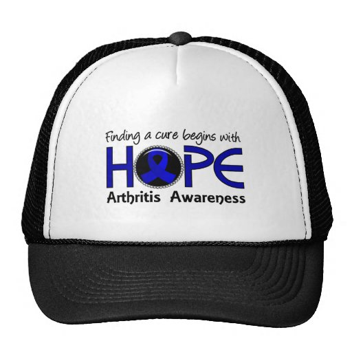 Cure Begins With Hope 5 Arthritis Trucker Hats