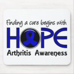 Cure Begins With Hope 5 Arthritis Mouse Pad