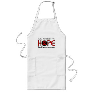 Cure Begins With Hope 5 Blood Cancer Long Apron