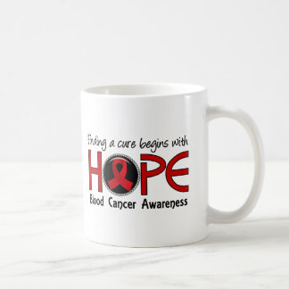 Cure Begins With Hope 5 Blood Cancer Classic White Coffee Mug