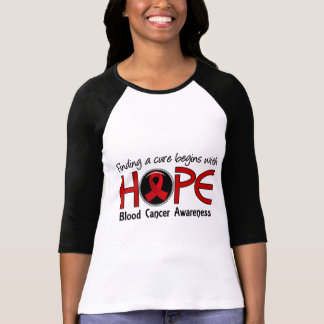 Cure Begins With Hope 5 Blood Cancer T Shirt