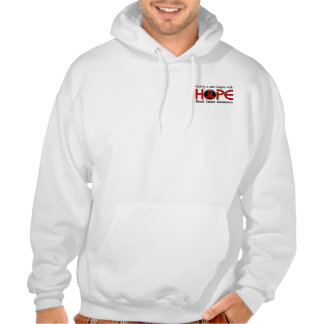 Cure Begins With Hope 5 Blood Cancer Hooded Pullover