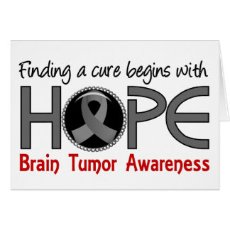 Cure Begins With Hope 5 Brain Tumor Cards