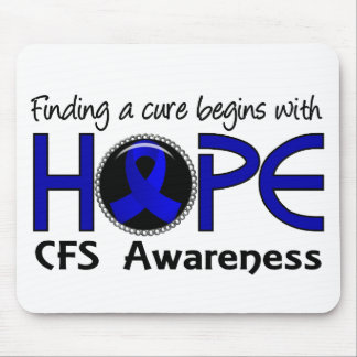 Cure Begins With Hope 5 CFS Mouse Pad