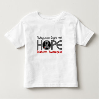 Cure Begins With Hope 5 Diabetes Tee Shirts