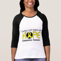 Cure Begins With Hope 5 Endometriosis T-Shirt