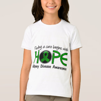 Cure Begins With Hope 5 Kidney Disease T-Shirt