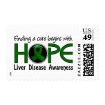 Cure Begins With Hope 5 Liver Disease Stamp