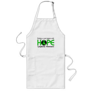 Cure Begins With Hope 5 Lymphoma Long Apron