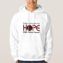 Cure Begins With Hope 5 Multiple Myeloma Hoodie