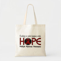 Cure Begins With Hope 5 Multiple Myeloma Tote Bag