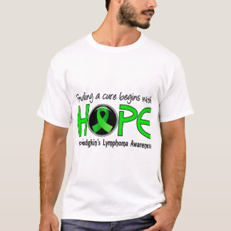 Cure Begins With Hope 5 Non-Hodgkin's Lymphoma T-Shirt