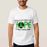 Cure Begins With Hope 5 Non-Hodgkin's Lymphoma Tee Shirt