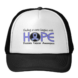 Cure Begins With Hope 5 Prostate Cancer Trucker Hat