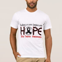 Cure Begins With Hope 5 Skin Cancer T-Shirt