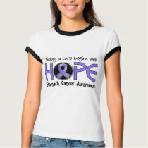 Cure Begins With Hope 5 Stomach Cancer T-Shirt