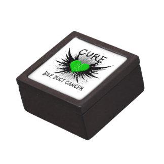 Cure Bile Duct Cancer Premium Jewelry Box