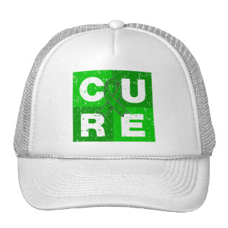 CURE Bipolar Disorder Cube Trucker Hat