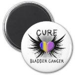 Cure Bladder Cancer 2 Inch Round Magnet