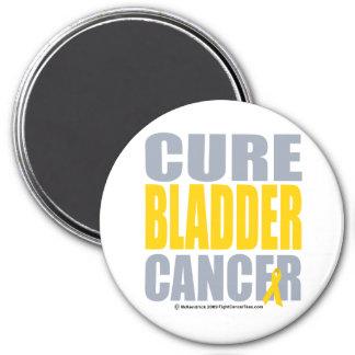 Cure Bladder Cancer 3 Inch Round Magnet