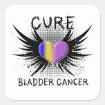 Cure Bladder Cancer Square Sticker