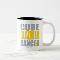 Cure Bladder Cancer Two-Tone Coffee Mug