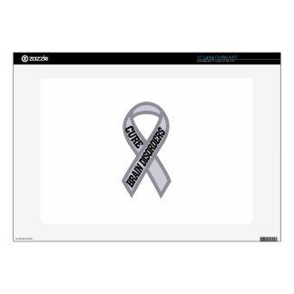Cure Brain Disorders Decals For Laptops