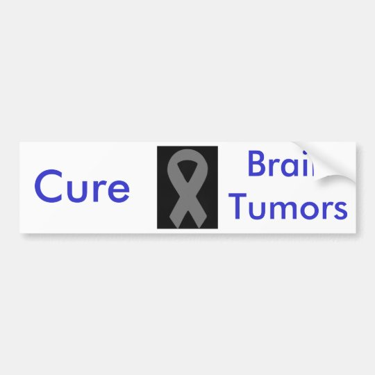 Cure BrainTumors Bumper Sticker